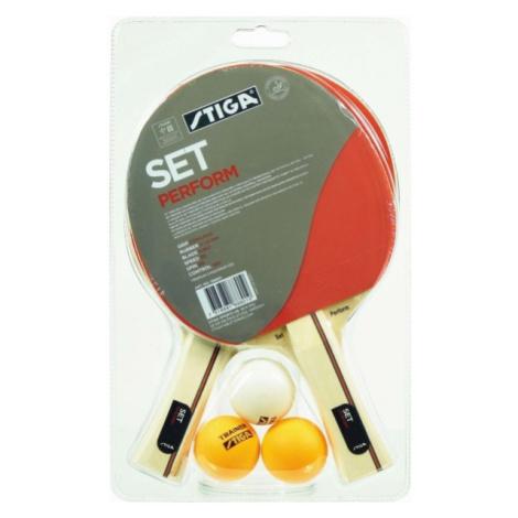 Stiga PERFORM SET red - Table tennis set