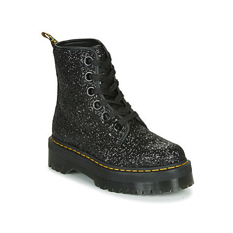 Dr Martens MOLLY GLITTER women's Mid Boots in Black
