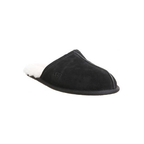 UGG Scuff Slipper NEW BLACK SUEDE