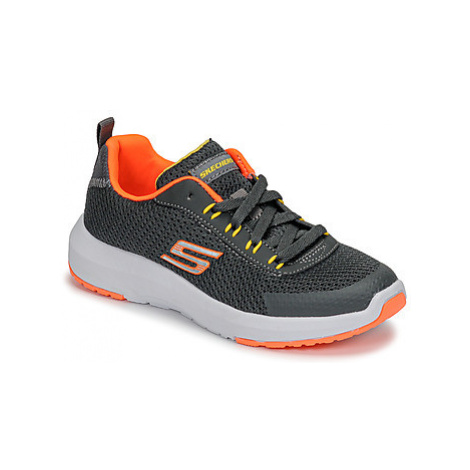Skechers DYNAMIC TREAD boys's Children's Sports Trainers (Shoes) in Grey