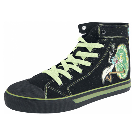Rick And Morty - Portal - Sneakers - black
