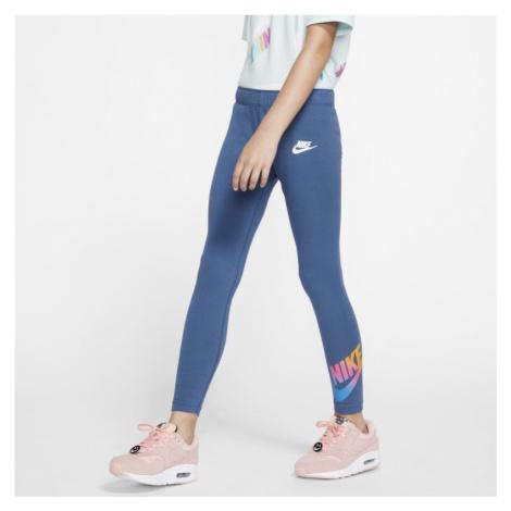 Nike Sportswear Older Kids' (Girls') Leggings - Blue