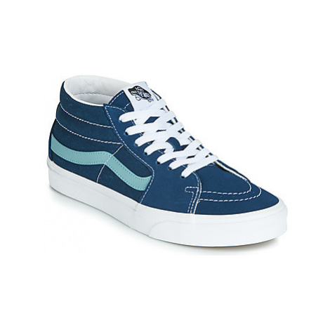 Vans SK8-MID women's Shoes (High-top Trainers) in Blue