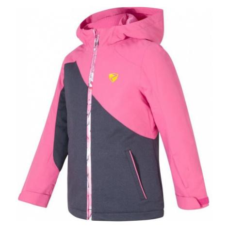 Ziener ABELLA JR pink - Girls' jacket