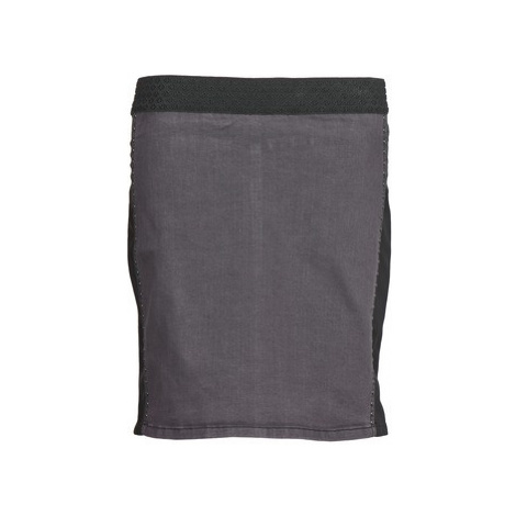 Cream HAISE women's Skirt in Grey