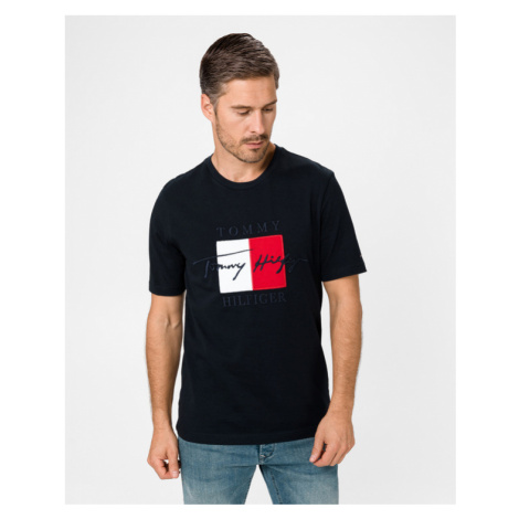 Tommy Hilfiger Box Signature T-shirt Blue