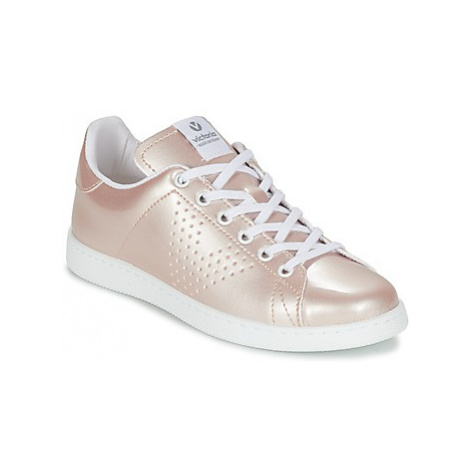 Victoria DEPORTIVO VERNISE women's Shoes (Trainers) in Pink
