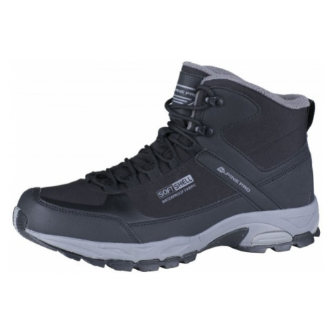 ALPINE PRO AIDER black - Men's ankle shoes