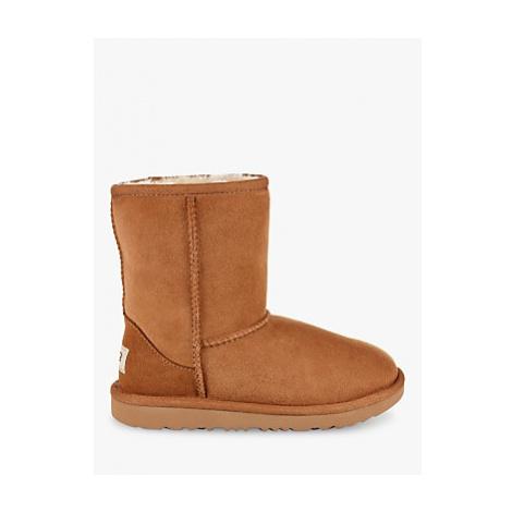 UGG Children's Classic Short II Sheepskin Boots