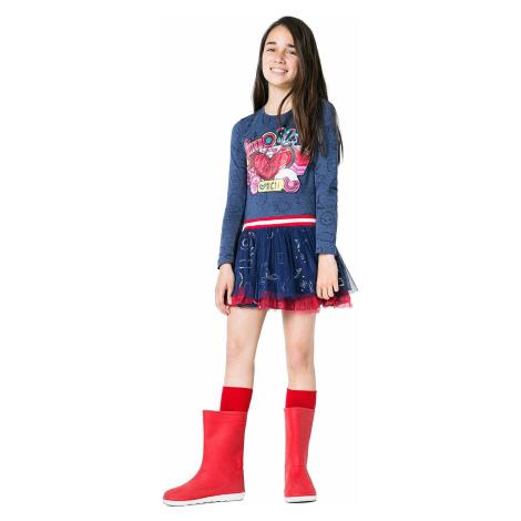 dress Desigual 67V32A1/Argel - 5006/Jeans