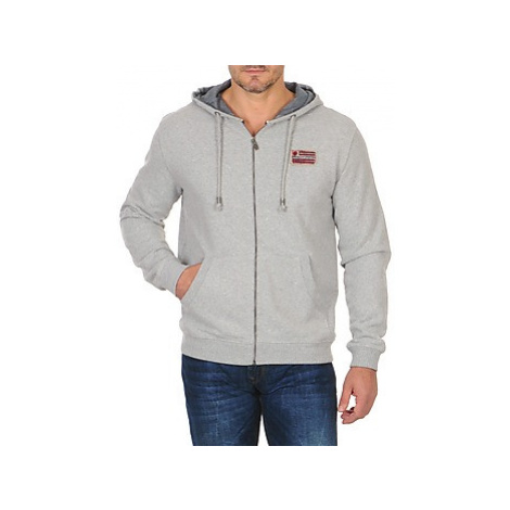 Freeman T.Porter BRUTON ZIP NEW men's Sweatshirt in Grey Freeman T. Porter