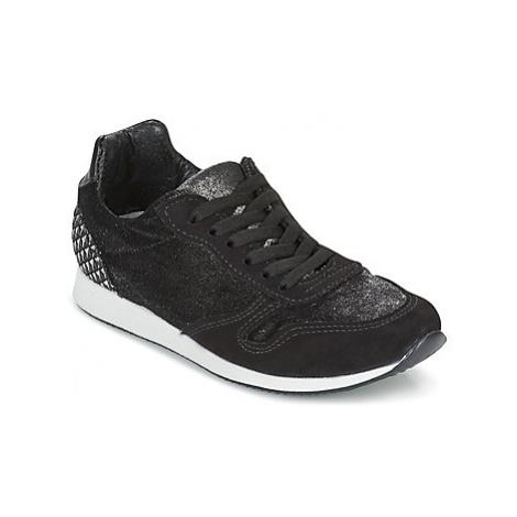 Ippon Vintage RUN VELVET women's Shoes (Trainers) in Black