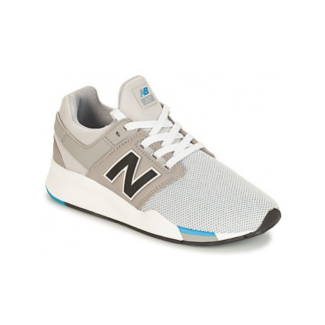 New Balance GS247 girls's Children's Shoes (Trainers) in Grey