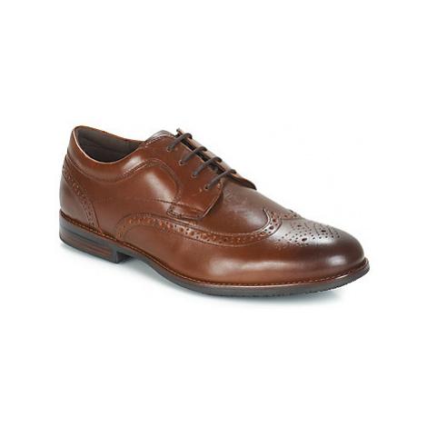 Rockport DUSTYN WINGTIP men's Casual Shoes in Brown