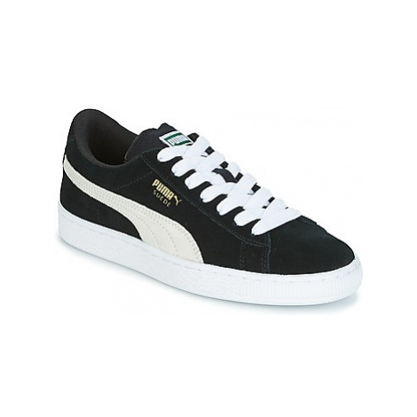 Puma SUEDE JR girls's Children's Shoes (Trainers) in Black