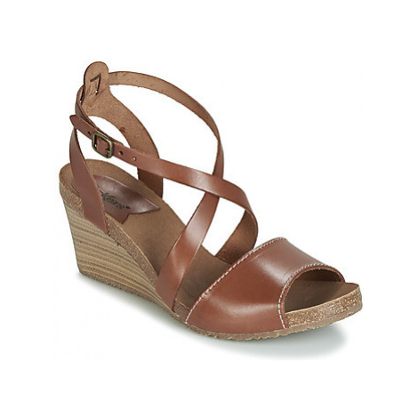 Kickers SPAGNOL women's Sandals in Brown