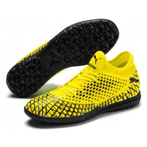 Puma FUTURE 4.4 TT yellow - Men's turf football boots