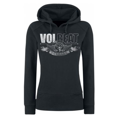 Volbeat - Hourglass - Girls hooded sweatshirt - black