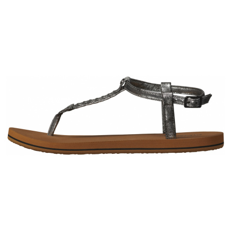 O'Neill Ditsy Plus Sandals Brown Silver