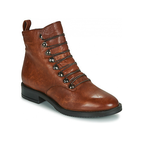 Dream in Green LASLIE women's Mid Boots in Brown