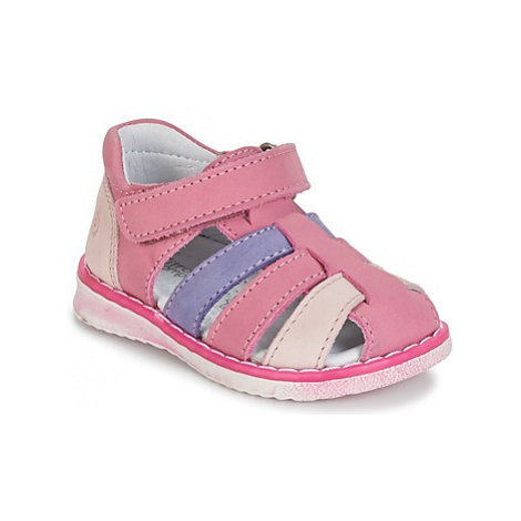 Citrouille et Compagnie FRINOUI girls's Children's Sandals in Pink