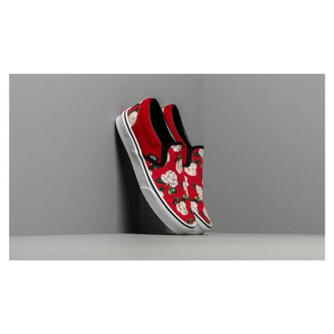 Vans Classic Slip-On (Romantic Floral) Chili Pepper