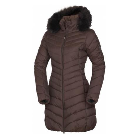 Northfinder VONILA brown - Women's longline jacket