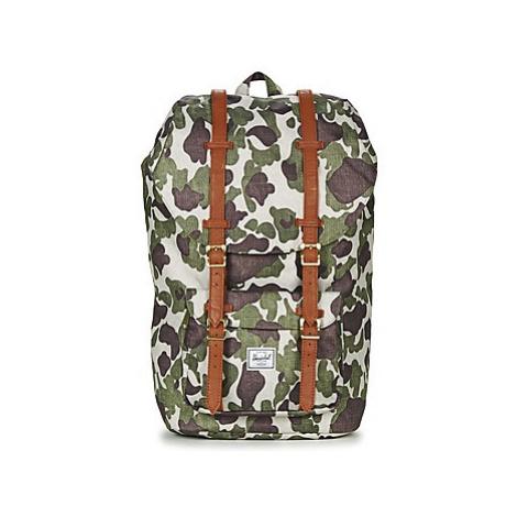 Herschel LITTLE AMERICA men's Backpack in Green