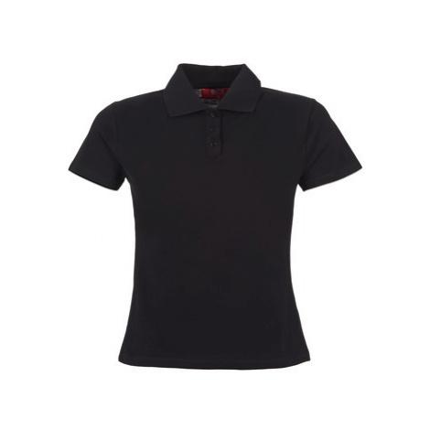BOTD ECLOVERA women's Polo shirt in Black