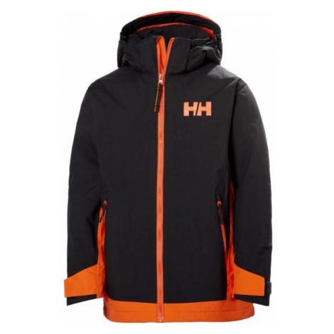 Helly Hansen JR HILLSIDE JACKET black - Kids' skiing jacket