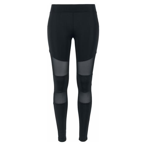 Urban Classics - Ladies Tech Mesh Leggings - Leggings - black