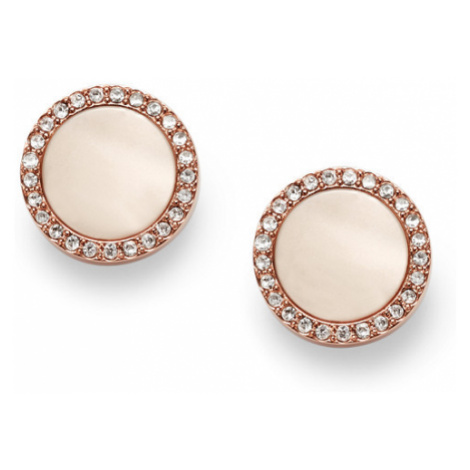 Fossil Women Shimmer Horn Studs Gold - One size