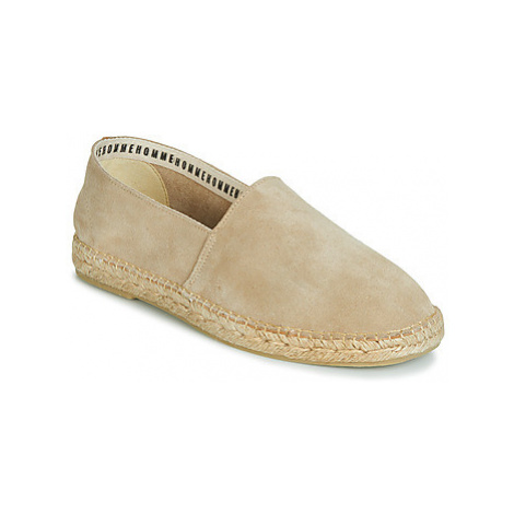 Selected AJO SUEDE men's Espadrilles / Casual Shoes in Beige