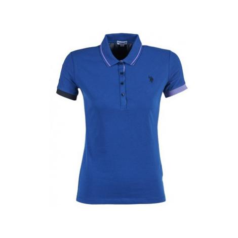 U.S Polo Assn. SOFIA women's Polo shirt in Blue U.S. Polo Assn