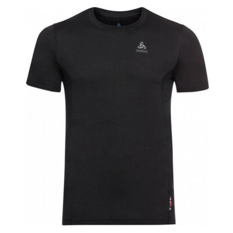 Odlo SUW MEN'S TOP CREW NECK S/S NATURAL+ LIGHT black - Men's T-shirt