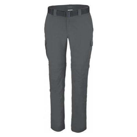 Columbia SILVER RIDGE II CONVERTIBLE PANT dark gray - Men's outdoor pants