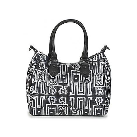 Desigual ROBOTS LEEDS women's Handbags in Black