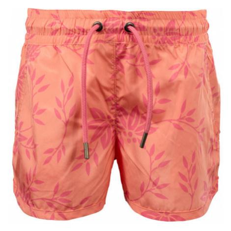 ALPINE PRO TAKODO orange - Girls' shorts