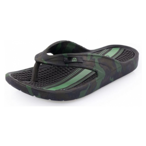 ALPINE PRO GLATIR brown - Men's flip-flops