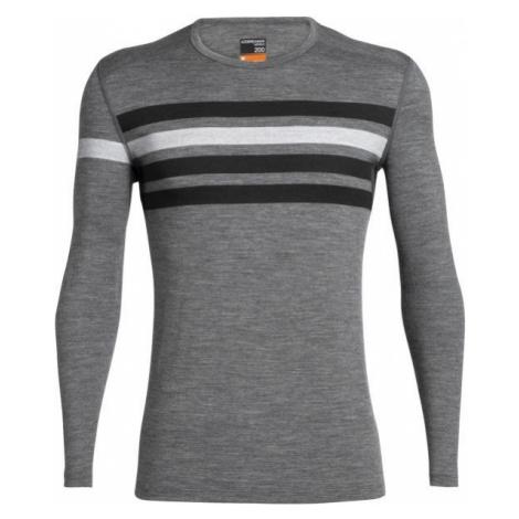 Icebreaker OASIS LS CREWE grey - Long-sleeved Merino T-shirt Icebreaker Merino