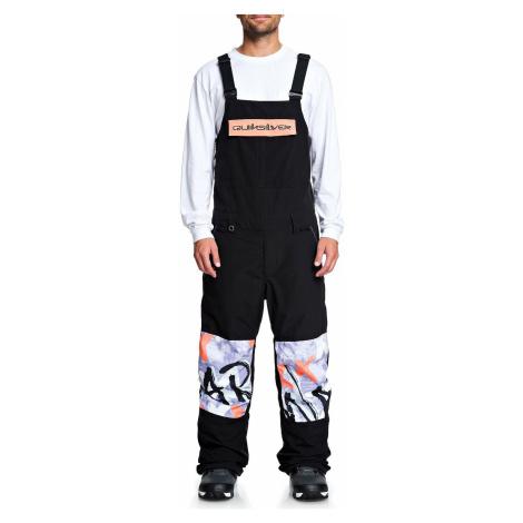 pants Quiksilver Anniversary Bib - KVJ0/Black - men´s