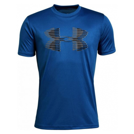 Under Armour TECH BIG LOGO SOLID TEE blue - Boys' T-shirt