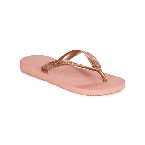 Havaianas TOP TIRAS women's Flip flops / Sandals (Shoes) in Pink