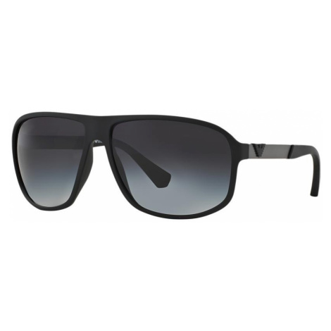 Emporio Armani Man EA4029 - Frame color: Black, Lens color: Blue, Size 64-13/130
