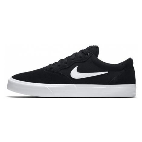 Nike SB Chron Solarsoft Skate Shoe - Black