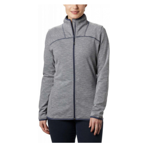 Blue women's sports zip-through sweatshirts and hoodies