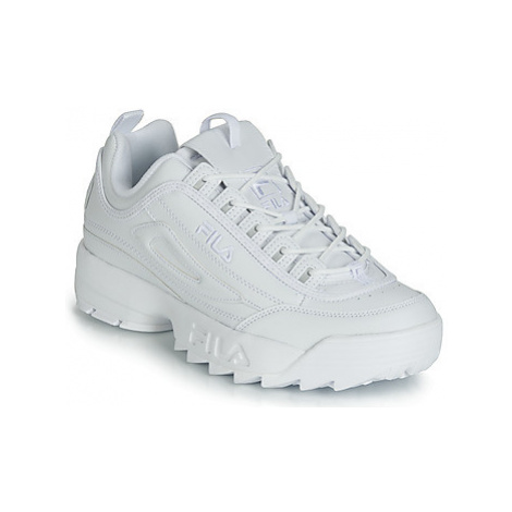 Fila DISRUPTOR II men's Shoes (Trainers) in White