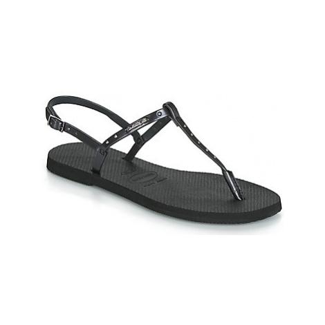 Havaianas YOU RIVIERA MAXI women's Sandals in Black