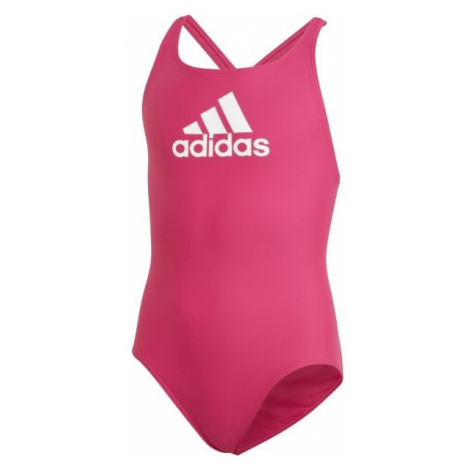 adidas YA BOS SUIT pink - Girls' swimsuit
