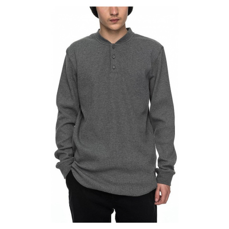 T-shirt DC Cliffwood LS - KTEH/Charcoal Heather